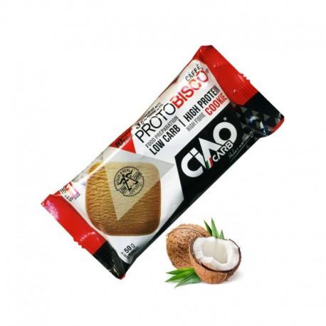 Protobisco al Cocco CIAOCARB - Biscotti Proteici