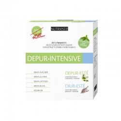 DEPUR-INTENSIVE Multi-Concentrati Nutriesté - Kit Depurativo Forte con Fiori di Bach