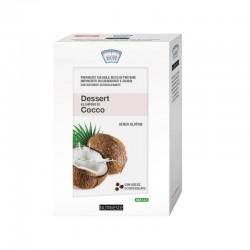 Dessert al Cocco con Gocce di Cioccolato 4 Bustine NUTRIESTÉ - Dessert Proteico per Dimagrire