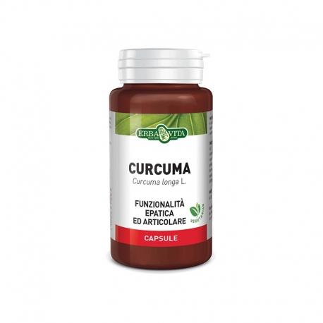 Curcuma in capsule ERBA VITA - Antinfiammatorio e Antiossidante