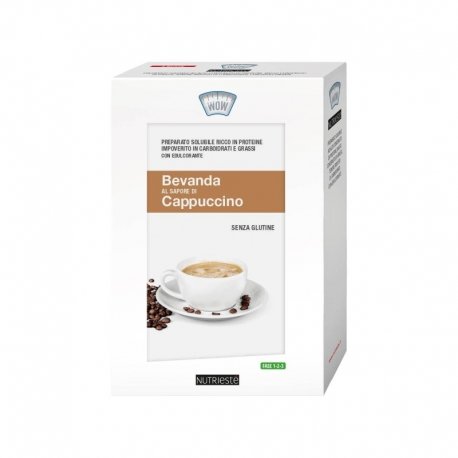 Bevanda al Cappuccino 4 bustine Nutriesté