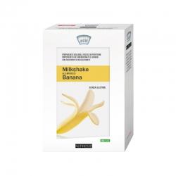 MilkShake alla Banana 4 Bustine NUTRIESTÉ - Frullato Proteico per Dimagrire