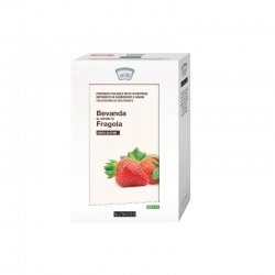Frappè alla Panna e Fragola 4 Buste NUTRIESTÉ - Frullato Proteico per Dimagrire