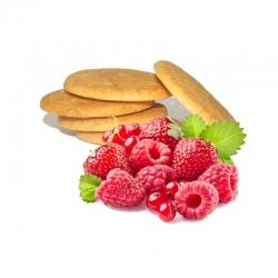 BiscoSnack ai Frutti Rossi EthicalFit - Biscotti Proteici per Perdere Peso