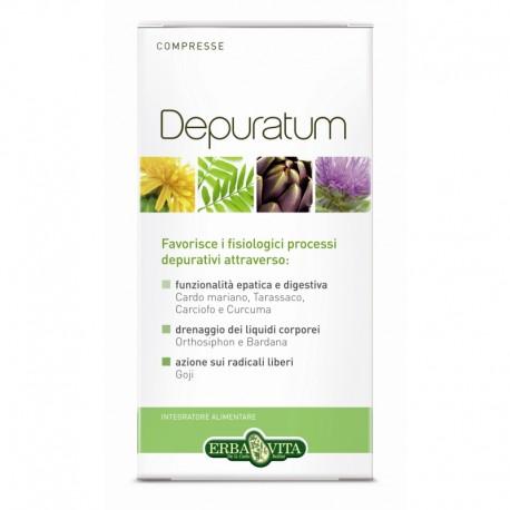 Depuratum Compresse ERBA VITA - Depurativo e Antiossidante