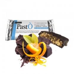 PastÒ Barretta NUTRIESTÈ - Barretta Sostitutiva del Pasto al Cioccolato e Arancio